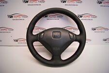 Honda Prelude, steering wheel retrimming service, leather or alcantara thickened
