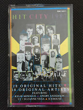 HIT CITY 1987 - VARIOUS ARTISTS - KYLIE MINOGUE - AUSTRALIAN RELEASE CASSETTE