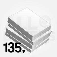 300 FOGLI Cartoncino bianco 135 gr Stampa Laser e Inkjet A4 Carta Fotografica
