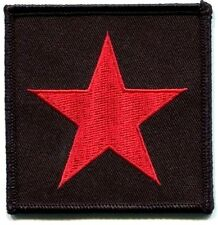 STAR red revolutionary EMBROIDERED IRON-ON PATCH *Free Ship* che guevara P-0468