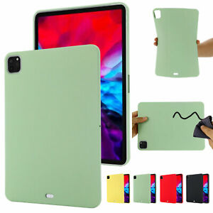 For iPad 10.2 9.7 Air mini Pro 11 2021 Shockproof Soft Silicone Case Slim Cover
