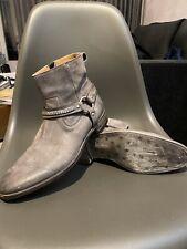 JOHN VARVATOS Boots Eldridge Harness Stiefel Gr. 10 Stiefeletten Herrenstiefel