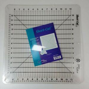 "June Tailor 12""x12"" Shape Cut Quilting Slot Ruler Mat JT-796 JT798 NEW, SEALED"