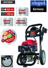 Scheppach Benzin-Hochdruckreiniger HCP2600 5 Düsenaufsätze, 7,5m HD-Schlauch
