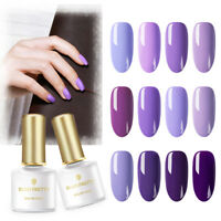6ml BORN PRETTY Soak Off UV Gel Polish  Purple Series Nai Polish