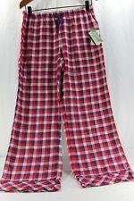 Woolrich Pemberton Lounge Pant M Women s Sleepwear Red purple Plaid Relaxed a50adef85