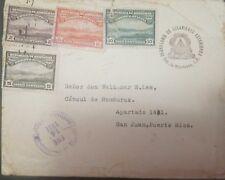 O) 1931 HONDURAS, VIEW OF TEGUCIGALPA  - LANDSCAPE, SCT O90 2c -SC O92 6c - SC O