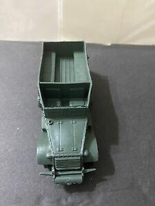 Original WW2 Green Halftrack   1:32 by Marx