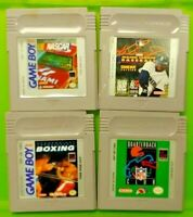 Boxing Nascar Racing Baseball NFL Club Nintendo Game Boy Color GBC GB SP Advance