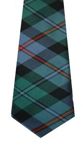 CAMPBELL OF CAWDOR ANCIENT TARTAN  PURE WOOL TIE by LOCHCARRON of SCOTLAND