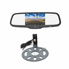 Rear View Backup Camera + Clip-on Mirror Monitor for Jeep Wrangler (2007-2018)