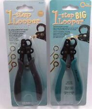 (2 Pack) 1 Step Eye Pin Looper Pliers Make Eye Pins In 1.5 & 3 mm Size
