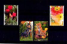 Australia Flores perros y gatos Series del año 1994-96 (AJ351)