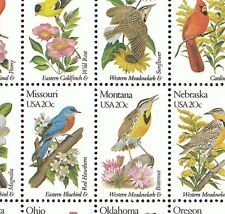 1953-2002     BIRDS & FLOWERS  M  NH FULL SHEET OF 50   SPECIAL SALE @ FACE