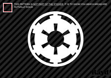 (2) Imperial Symbol Logo Sticker Die Cut Decal vinyl cog