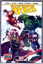 AVENGERS Season One #1 HC OOP 1st ed MARVEL comic HC BRAND NEW Cover price $24.