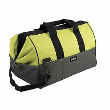 Ryobi One+ Soft Tool Bag Heavy duty fabric, Metal support frame 14 compartments