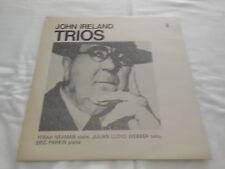John Ireland TRIOS - Neaman/ Violin; Julian Lloyd Webber/ Cello; Parkin/Piano