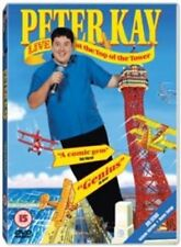 PETER KAY LIVE AT THE TOP OF THE TOWER UNIVERSAL UK 2001 REGION 2 DVD NEW SEALED