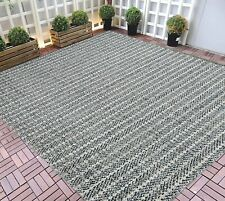Indoor/Outdoor Rugs 5x7 water proof Gray Outdoor Carpet 8x10 3-D Pattern