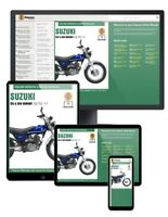 Suzuki RV125/200 VanVan (2003-2017) Haynes Online Manual