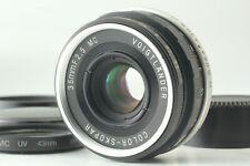 [Exc+4] Voigtlander Color Skopar 35mm f2.5 MC Lens for L39 Leica from Japan #634
