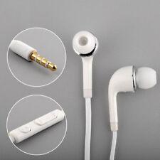 1x Universel Écouteur Casque Stéréo Intra-auriculaire Micro Pour Samsung iPhone