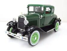 FORD MODELLO A Coupè 1931 GRIGIO SCURO / Nero, modello auto 1:18 / SUN STAR