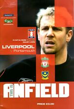 Liverpool v Portsmouth programme, FA Cup 5th Round, February 2004
