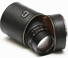 "Vintage Lens Case 3"" For Canon Pentax Minolta Olympus Tokina Leica Nikon Sigma"