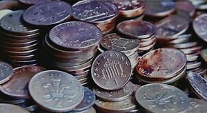 1 Penny (1P) Coins, Circulated Condition, 1971 - Present UK Decimal
