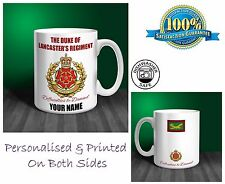 The Duke of Lancaster's Regiment Personalised Ceramic Mug Gift (MA90)