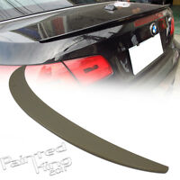 Unpainted Fit For BMW 3-Series E93 P Type Rear Trunk Spoiler Convertible ABS