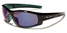 Sunglasses New Sport Designer Shades Wraps Xloop Men Women Black Blue Xl477G