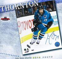 JOE THORNTON Signed San Jose Sharks 8 x 10 Photo - 70139