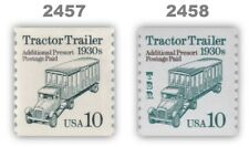 2457 2458 Tractor Trailer 1930s 10c Variety Set 2 Transportation MNH - Buy Now
