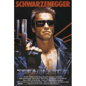 "Terminator – Movie Poster – Arnold Schwarzenegger – 91 x 61 cm 36"" x 24"""