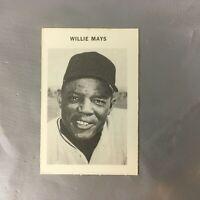 1969 MILTON BRADLEY WILLIE MAYS BASEBALL HOF CARDS SAN FRANCISCO GIANTS EX