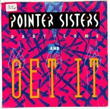 """Pointer Sisters - Baby Come And Get It - 7"""" Record Single"""