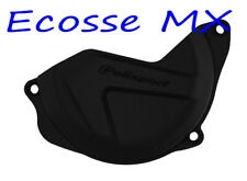 Honda CRF450R 2010-2016 Polisport Clutch Cover Protector Black