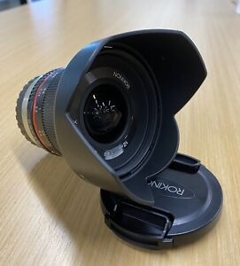 rokinon 12mm f2.0 canon NCS CS Ultra Wide Angle Fixed Lens For Fuji-X