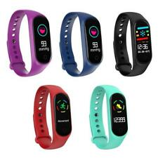 M4 Smart Band Bracelet Fitness Tracker Heart Rate Blood Pressure Monitor WT7n