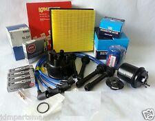 Cap-Rotor-NGK Wires-Spark Plug-Oil-Air-Fuel-Filter Tune Up Kit Honda CRV 99-01