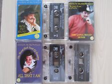 3 X SHAUN McMONAGLE CASSETTE TAPES TWO, THREE & FOUR,  RARE, TESTED.