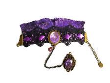 Armband Viktorianisch Gothic Steampunk Fantasy  Barock Ring Schmuck Accessoires