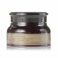 UK STOCK Korea Innisfree Wine Jelly Sleeping Pack 80ml Face Mask