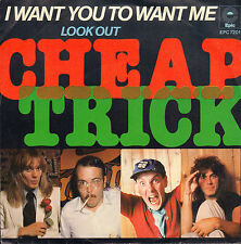 CHEAP TRICK – I Want You To Want Me (1979 VINYL SINGLE 7' HOLLAND)