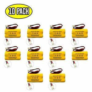 (10 pack) 4.8v 700mAh Ni-CD Battery for Emergency / Exit Light