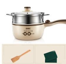 Electric Food Steamer Deep Fry Cooker Multi-function Cooking Pot Saucepan 700W #