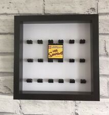 2 X MINI FIGURES Nero Vetrina TELAIO NERO LEGO Brick I Simpson 1 & 2